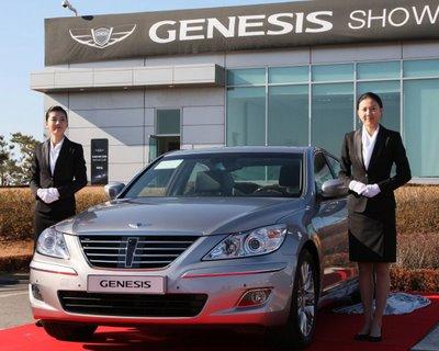 Hyundai Genesis Sedan 2008