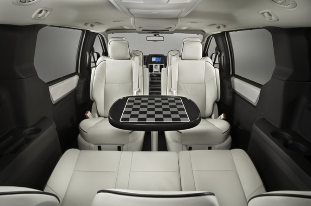Minivan With Table Images