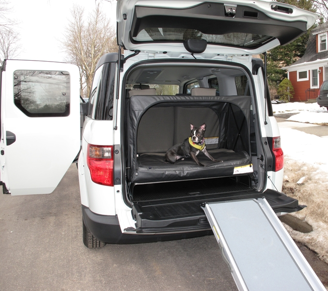 Honda Element EX: The Dog-Friendly Car   The Ultimate ...